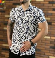 پیراهن هاوایی مدل اسکناس