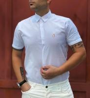 پیراهن آستین کوتاه SR سفید