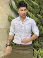 پیراهن اسپرت آستین بلند زارا ساده رنگ سفید
