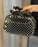 کیف دو زیپی با بند بلند