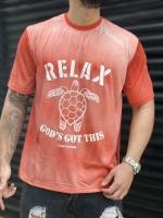 تیشرت آستین کوتاه RELAX قرمز