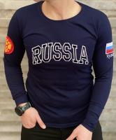 تیشرت آستین بلند RUSSIA سرمه ای