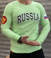 تیشرت آستین بلند RUSSIA سبز