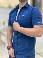 پیراهن آستین کوتاه Fashion لی آبی