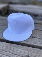 کلاه کپ ساده سفید