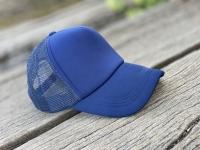 کلاه آفتابی پشت تور سرمه ای