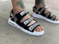 صندل Nike طوسی مشکی کف سفید