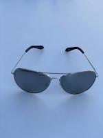 عینک مردانه طرح ریبن نقره ای