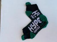 جوراب نیم ساق Hype مشکی سبز